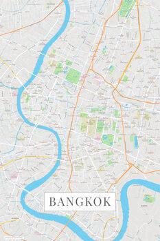 Mapa Bangkok color