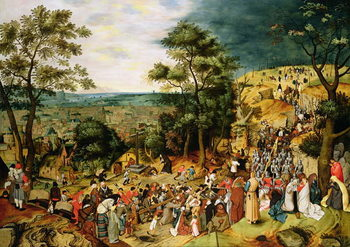 Reprodukcja Christ on the Road to Calvary, 1607
