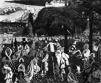 Reprodukcja Colourful Life, 1907 (tempera on canvas)