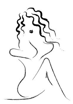 Ilustracja Femine