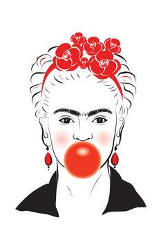 Ilustracja Frida