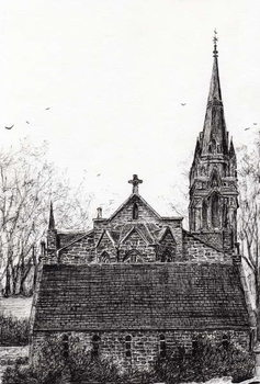 Reprodukcja Glenmuick (Ballater) Church, 2007,