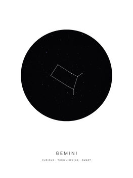 Ilustracja horoscopegemini