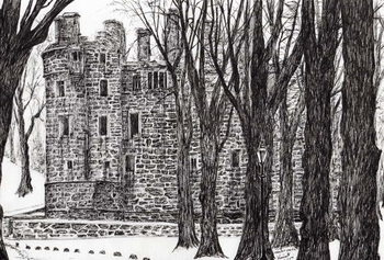 Reprodukcja Huntly Castle Scotland, 2007,