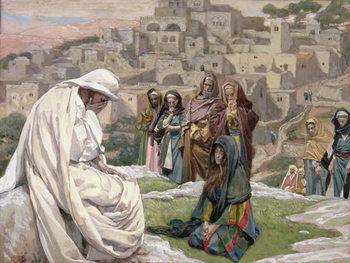 Reprodukcja Jesus Wept, illustration for 'The Life of Christ', c.1886-96