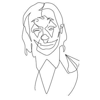 Ilustracja Joker