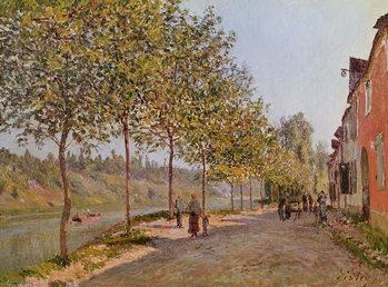 Reprodukcja June Morning in Saint-Mammes, 1884