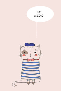 Ilustracja Le Meow