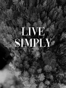Ilustracja Live simply