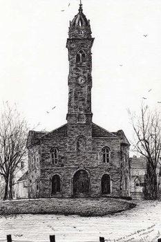 Reprodukcja Lorne & Lowland parish church, 2007,