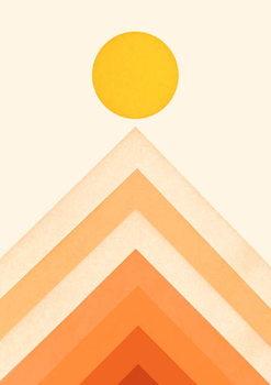 Reprodukcja Mountainscape 3