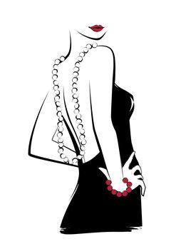 Ilustracja Necklace