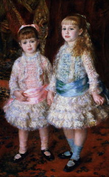 Reprodukcja Pink and Blue or, The Cahen d'Anvers Girls, 1881