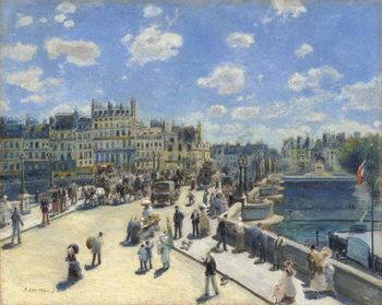 Reprodukcja Pont Neuf, Paris, 1872
