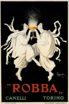 Reprodukcja Poster advertising Spumante Robba Canelli