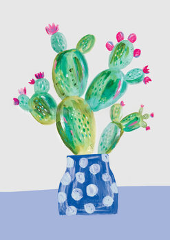 Ilustracja Prickly pear