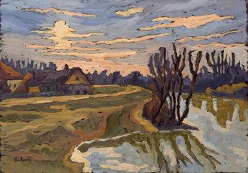 Reprodukcja Road into Dusk, 2004