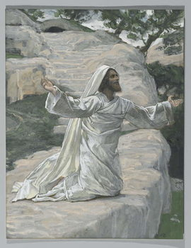 Reprodukcja Saint James the Less, illustration from 'The Life of Our Lord Jesus Christ', 1886-94