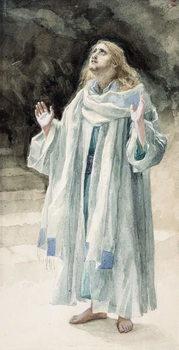 Reprodukcja Saint John the Evangelist, illustration for 'The Life of Christ', c.1886-94