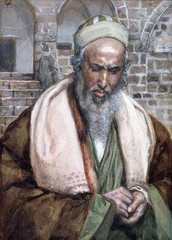 Reprodukcja Saint Luke, illustration for 'The Life of Christ', c.1884-96