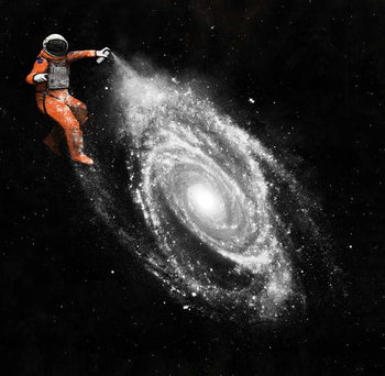 Reprodukcja Space Art