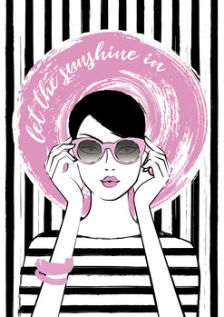 Ilustracja Sunshine girl