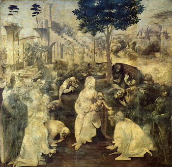 Reprodukcja The Adoration of the Magi, 1481-2