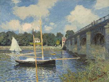 Reprodukcja The Bridge at Argenteuil, 1874