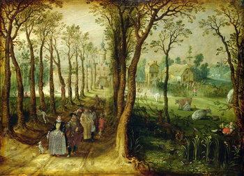 Reprodukcja The Castle in the Marsh