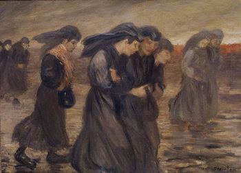 Reprodukcja The Coal Graders, 1905