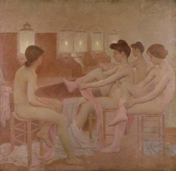 Reprodukcja The Dancers, 1905-09