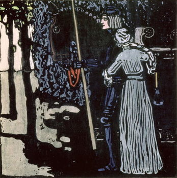 Reprodukcja The Farewell, 1903