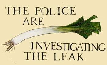 Reprodukcja The police are investigating the leak