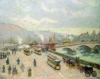 Reprodukcja The Pont Corneille at Rouen, 1898