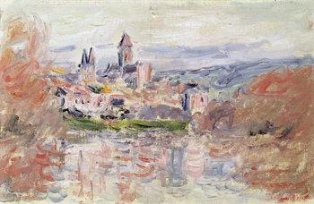 Reprodukcja The Village of Vetheuil, c.1881