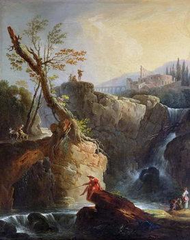 Reprodukcja The Waterfall, 1773