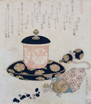 Reprodukcja A Pot of Tea and Keys, 1822