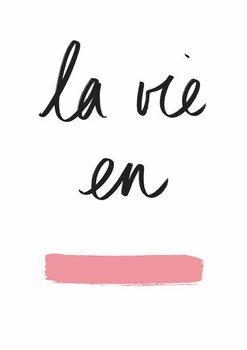 Reprodukcja La vie en Rose