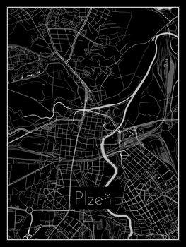 Mapa Plzeň