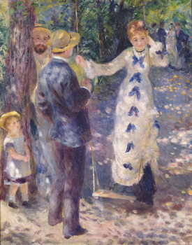 Reprodukcja  The Swing, 1876