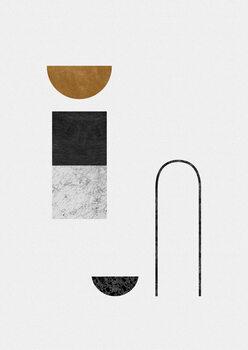 Illustrazione Abstract Geometric IV