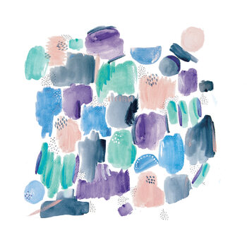 Illustrazione Abstract shapes