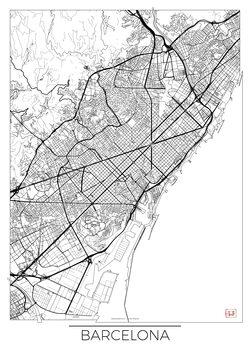 Mappa di Barcelona