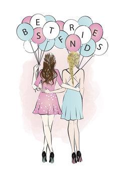 Illustrazione Best Friends