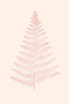 Illustrazione Botanica Minimalistica Rouge