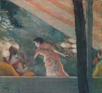Cafe Concert at the Ambassadeurs, 1885 - Stampe d'arte