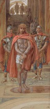 Christ Leaves the Judgement Hall, illustration for 'The Life of Christ', c.1886-94 - Stampe d'arte