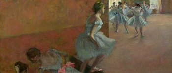 Dancers Ascending a Staircase, c.1886-88 - Stampe d'arte