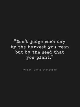 Illustrazione Dont judge each day
