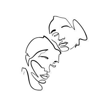 Illustrazione Gemelli